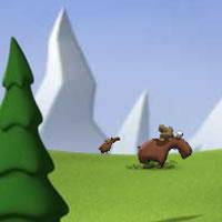 Весёлая охота на лося