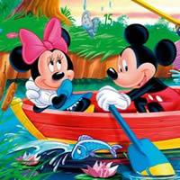 Микки Маус - Найди спрятанные цифры