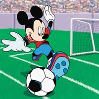 Микки Маус - Вратарь футбольной команды