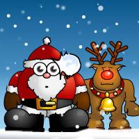 Снежки с Дедом Морозом