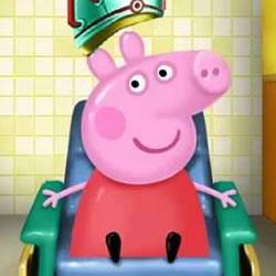 Свинка Пеппа в кабинете хирурга