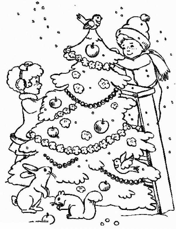 Картинка елочки для детей – Ой!