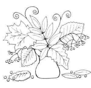 Осенний лес раскраска для детей распечатать – Раскраски Осень