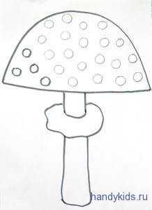 Раскраска мухомор грибы – Раскраска мухомор скачать и ...