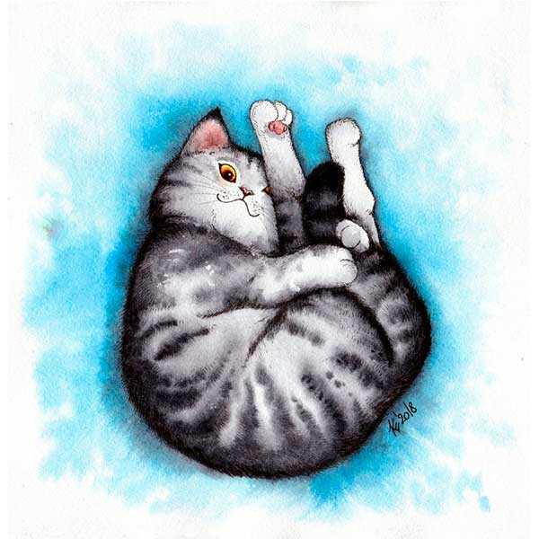 Рисунки акварельными красками – Ой!