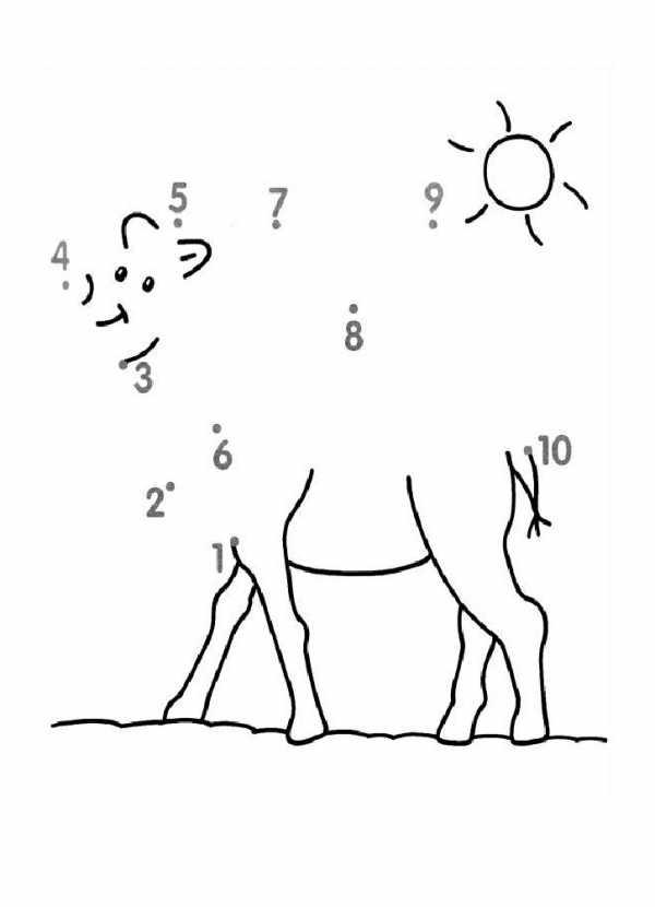 Рисунки для детей по точкам распечатать – Раскраски по ...