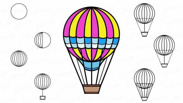 Воздушные шары карандашом рисунок – 🎈Как нарисовать шарики ...
